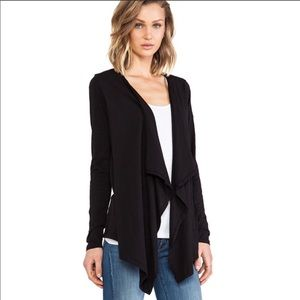 Velvet by Graham & Spencer Slub Open Cardigan